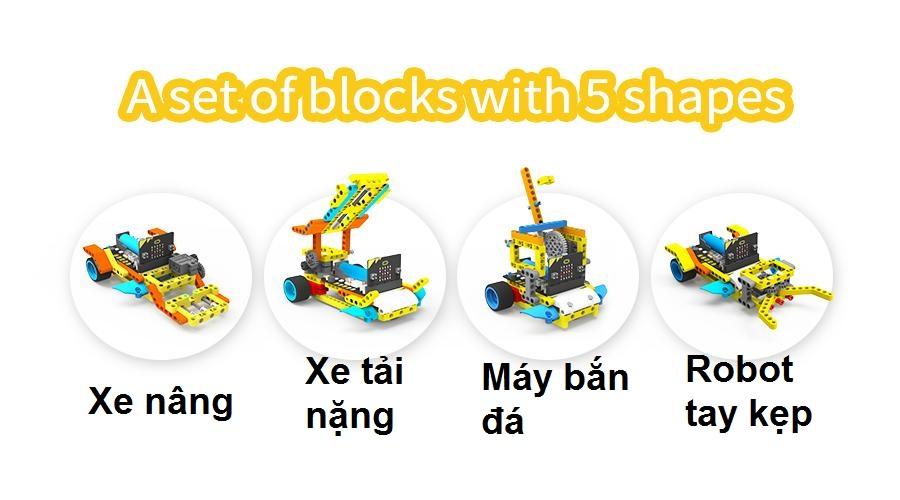 5 mau robot mo rong