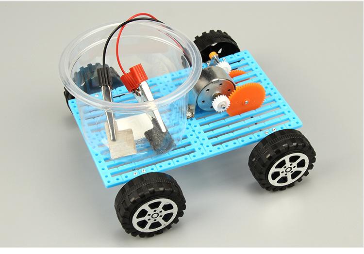 Xe pin nước muối- đồ chơi STEM - đồ chơi mô hình - đồ chơi lắp ráp