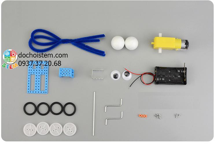 Robot bò sát- đồ chơi STEM - đồ chơi thông minh - đồ chơi lắp ráp