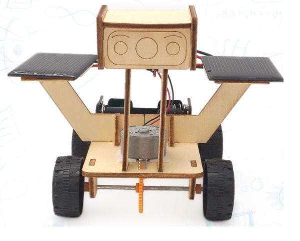 Xe năng lượng mặt trời- đồ chơi STEM - đồ chơi mô hình