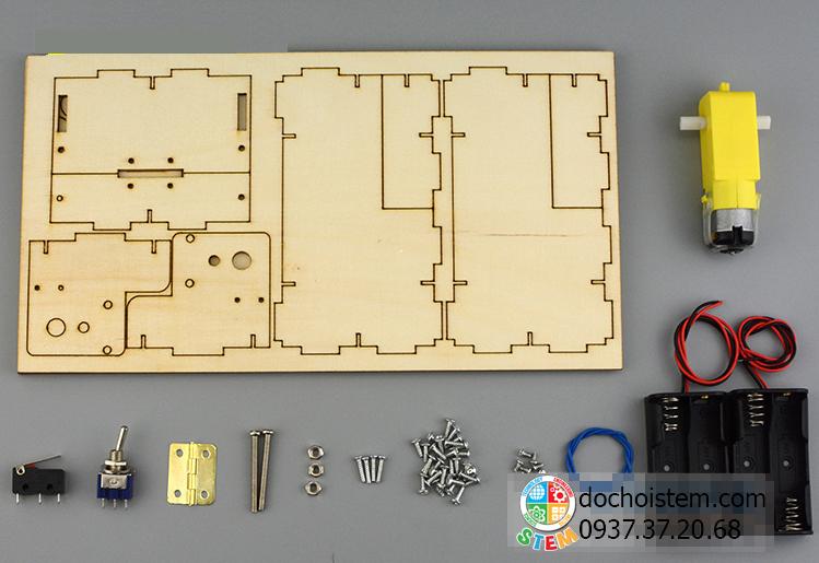 Hộp vô dụng- đồ chơi STEM - đồ chơi mô hình - đồ chơi lắp ráp