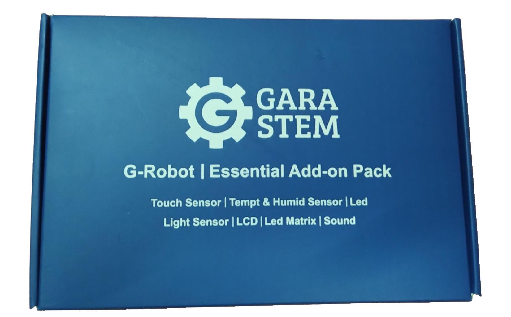 G-Robot Add-on Sensor Pack - GaraSTEM - Lập trình Arduino cho trẻ em
