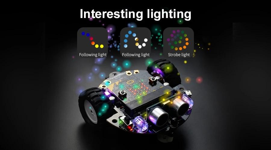 Tiny:bit - Xe robot Tiny Bit - Lập trình robot cho trẻ em