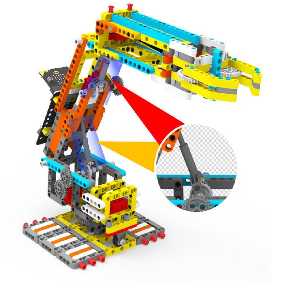 Arm:Bit - Cánh tay robot Arm Bit - Lego - Lập trình Microbit