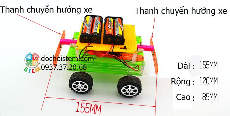 Xe hơi đảo chiều- đồ chơi STEM - đồ chơi thông minh - đồ chơi lắp ráp