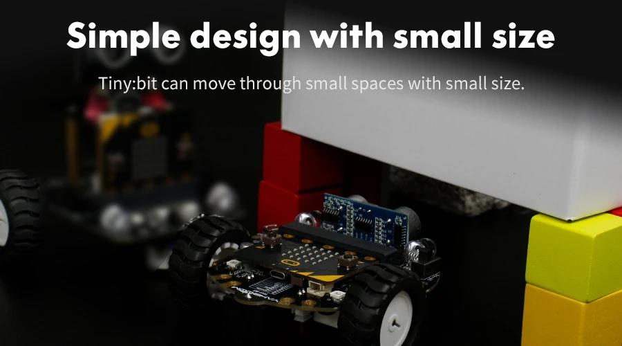 Tiny:bit - Xe robot Tiny Bit - Robot lập trình cho trẻ em