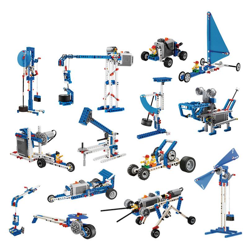 Bộ Lego 9686 Kỹ sư cơ khí - tương thích đồ chơi Lego Education 9686