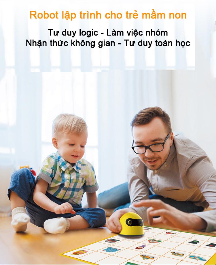 Robot STEAM mầm non - Giáo dục sớm - Giáo dục Mầm Non