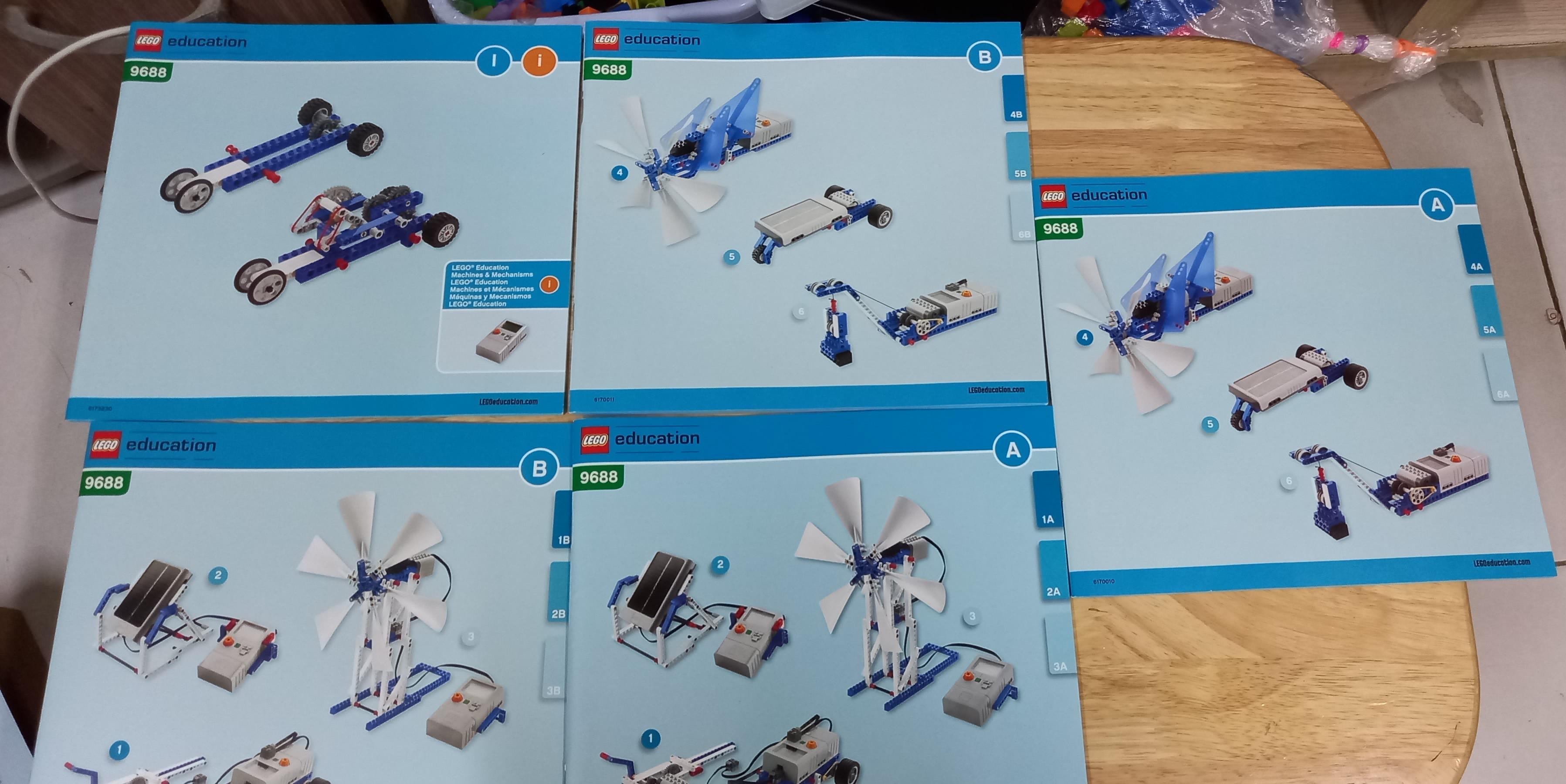 Bộ Lego Education 9688 Năng lượng tái tạo (bổ sung cho Lego 9686)