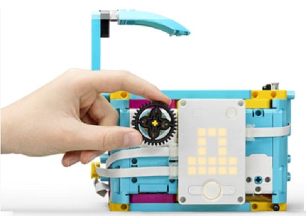 nâng cấp két sắt lego spike prime