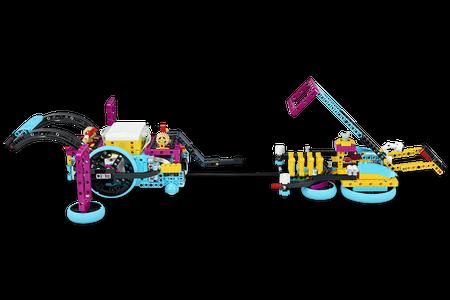 sẵn sàng cho nhiệm vụ lego spike prime