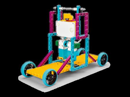vượt chướng ngại vật lego spike prime