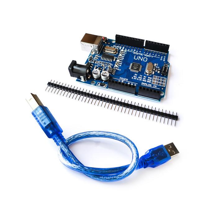 Arduino Uno R3 SMD (CH340 + ATMEGA328P-AU) - tự học lập trình arduino