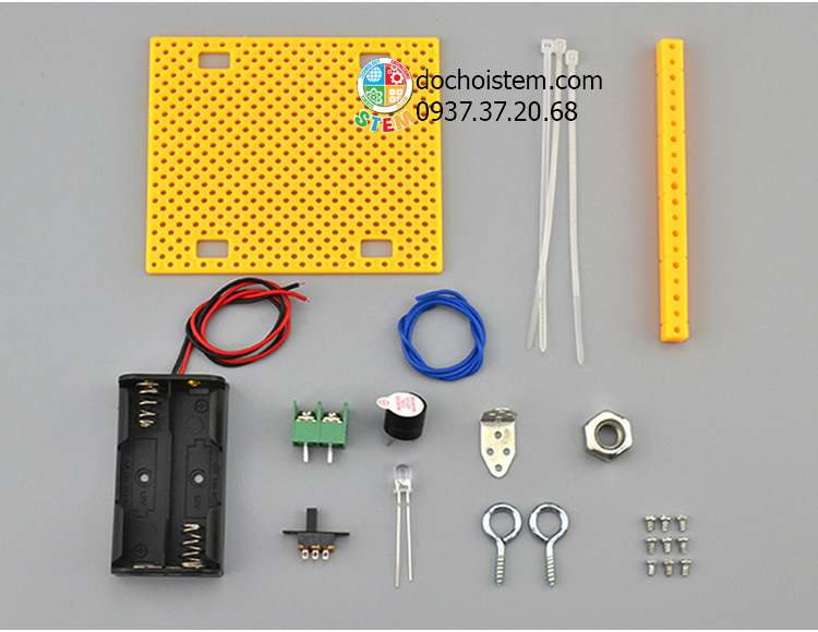 Cảnh báo động đất- đồ chơi STEM - đồ chơi mô hình - đồ chơi lắp ráp