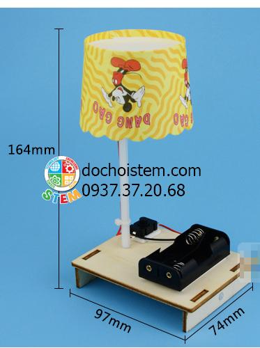 Đèn bàn sáng tạo- đồ chơi STEM - đồ chơi mô hình - đồ chơi lắp ráp