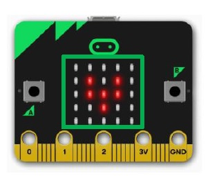 den led bbc microbit