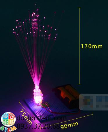 Đèn sợi quang- đồ chơi STEM - đồ chơi mô hình - đồ chơi lắp ráp