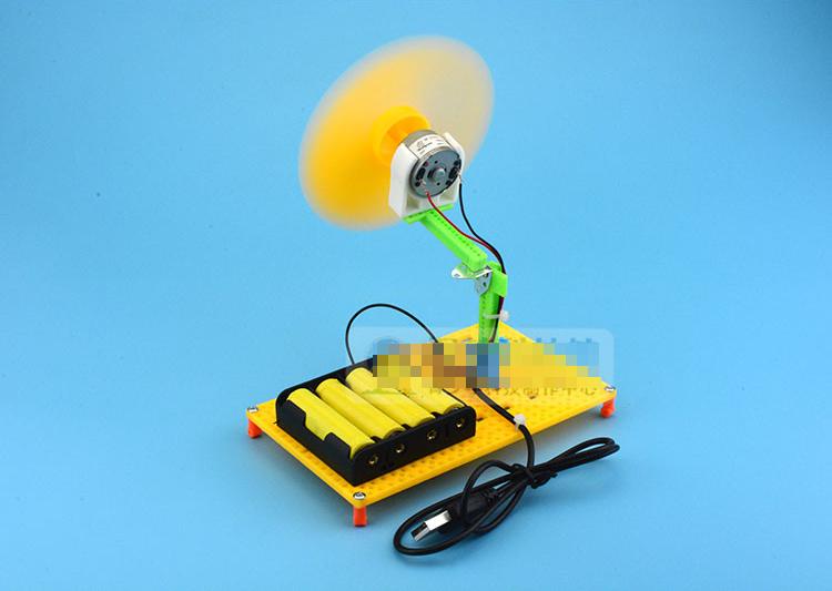Quạt usb & pin - đồ chơi STEM - đồ chơi mô hình - đồ chơi lắp ráp