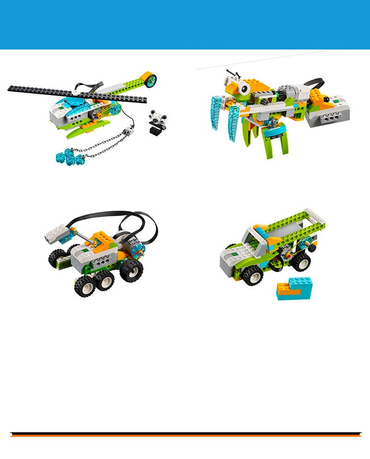 Lego Wedo 2.0 chính hãng - Milo 45300 Đồ Chơi Lego Education nhập khẩu