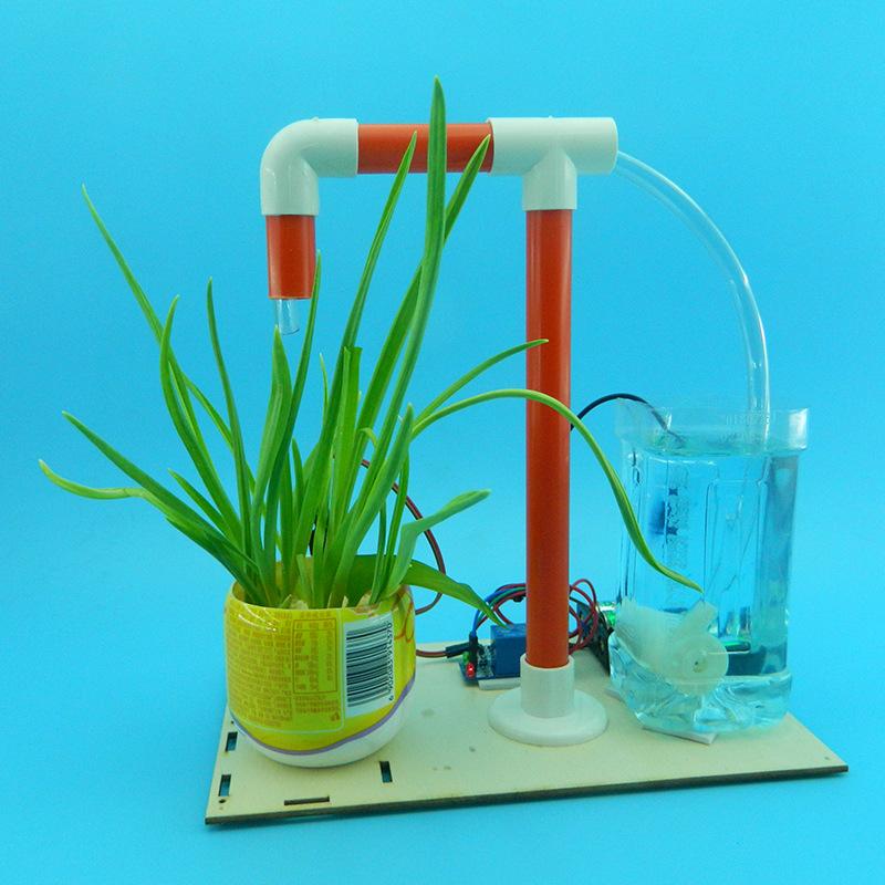 Máy tưới cây tự động- đồ chơi STEM - đồ chơi khoa học
