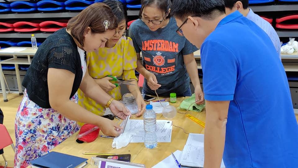 Khóa học STEM cho giáo viên -thiết kế tổ chức dạy học STEM theo chủ đề