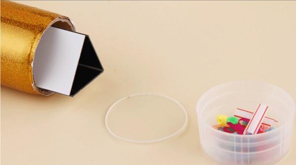 Kính vạn hoa- đồ chơi STEM mô hình lắp ráp thông minh sáng tạo