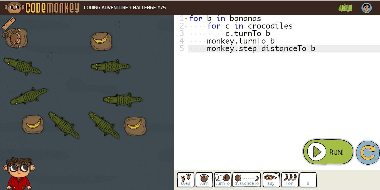 Khóa học lập trình Code Monkey phát triển tư duy cho trẻ từ 8+ tuổi