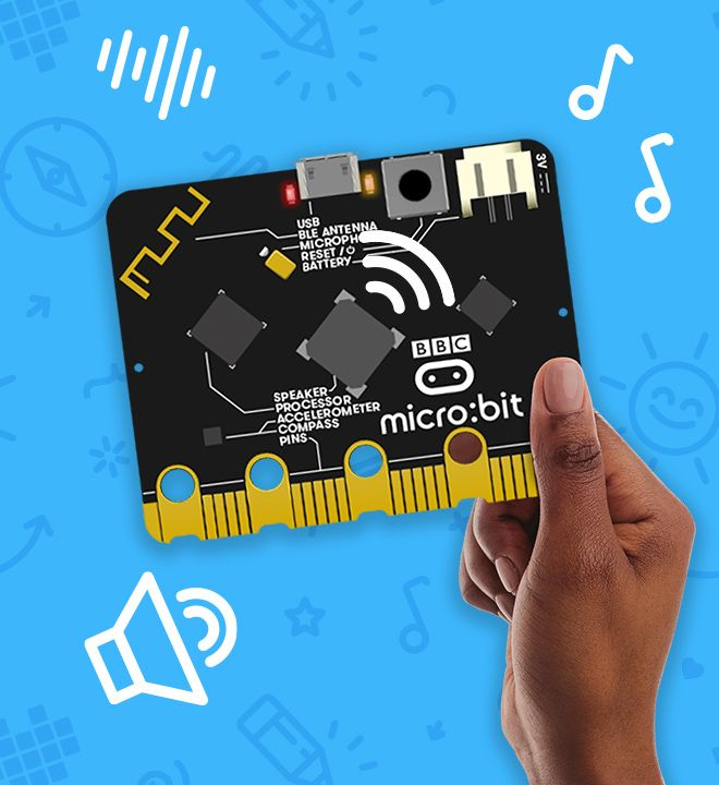 Mạch Microbit V2 chính hãng nhập khẩu Singapore - Microbit version 2