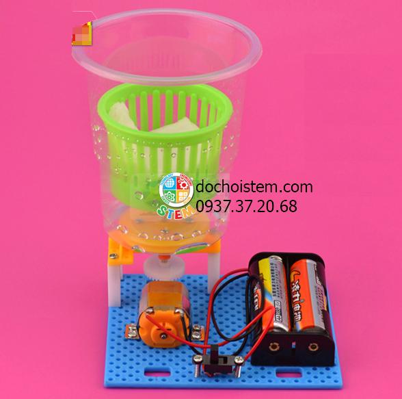 Máy giặt cửa trên- đồ chơi STEM - đồ chơi mô hình - đồ chơi lắp ráp