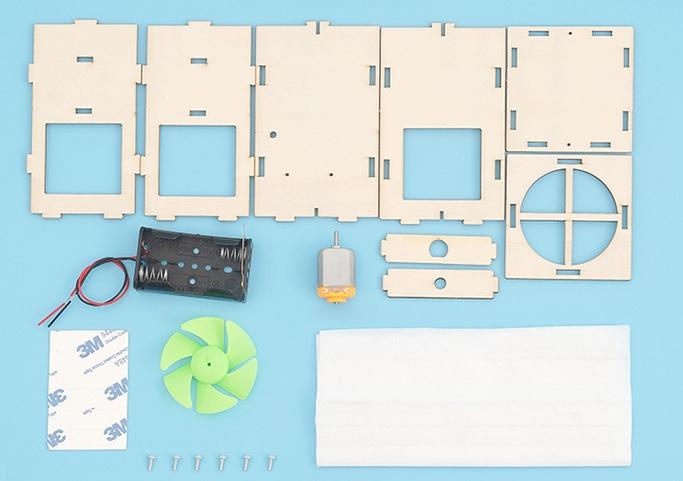 Máy lọc không khí- đồ chơi STEM - đồ chơi khoa học