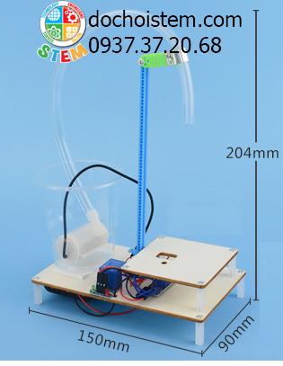Máy bơm nước tự động- đồ chơi STEM - đồ chơi mô hình