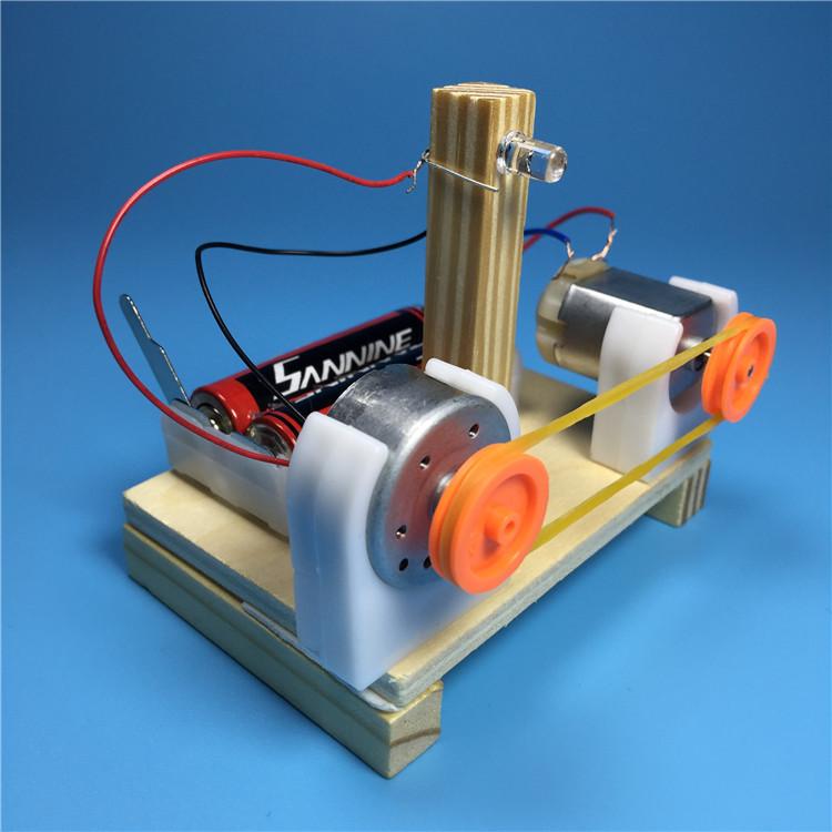 Máy phát điện - đồ chơi STEM - đồ chơi mô hình - đồ chơi lắp ráp