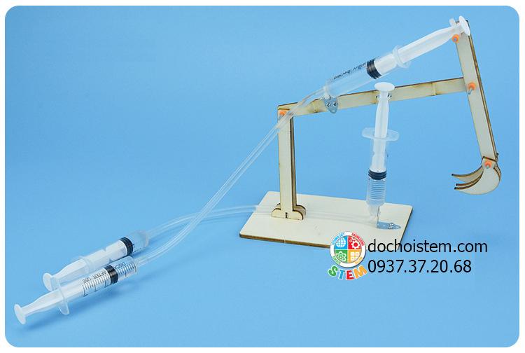 Máy đào thủy lực- đồ chơi STEM - đồ chơi mô hình - đồ chơi lắp ráp