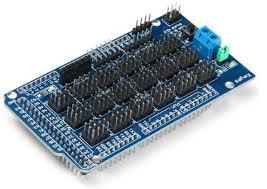 Arduino Mega 2560 Sensor Shield - mạch mở rộng Mega - bộ kit arduino