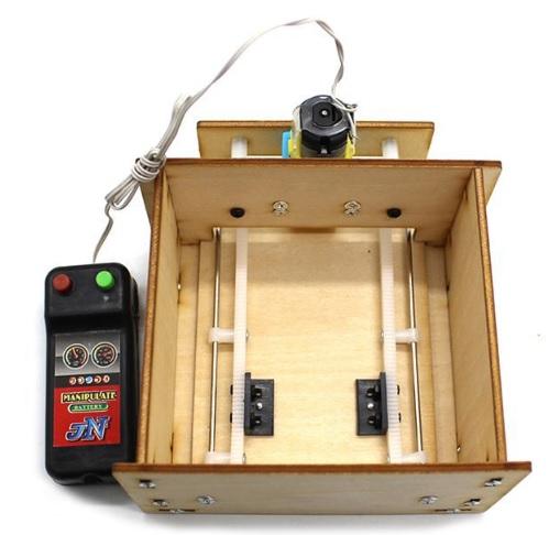 Mô hình cửa trượt - đồ chơi STEM - đồ chơi mô hình - đồ chơi lắp ráp