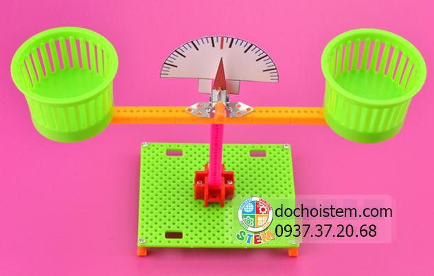 Cân thăng bằng - đồ chơi STEM - đồ chơi mô hình - đồ chơi lắp ráp