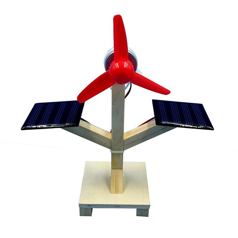 Quạt năng lượng mặt trời- đồ chơi STEM - đồ chơi mô hình