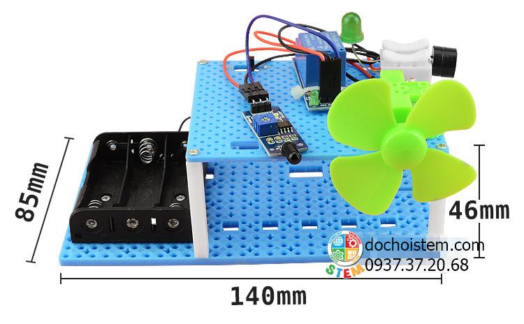 Quạt chữa cháy - đồ chơi STEM - đồ chơi mô hình - đồ chơi lắp ráp