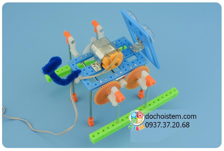 Robot chó điều khiển- đồ chơi STEM đồ chơi thông minh đồ chơi lắp ráp