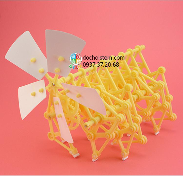 Robot gió Bionic- đồ chơi STEM - đồ chơi mô hình - đồ chơi lắp ráp