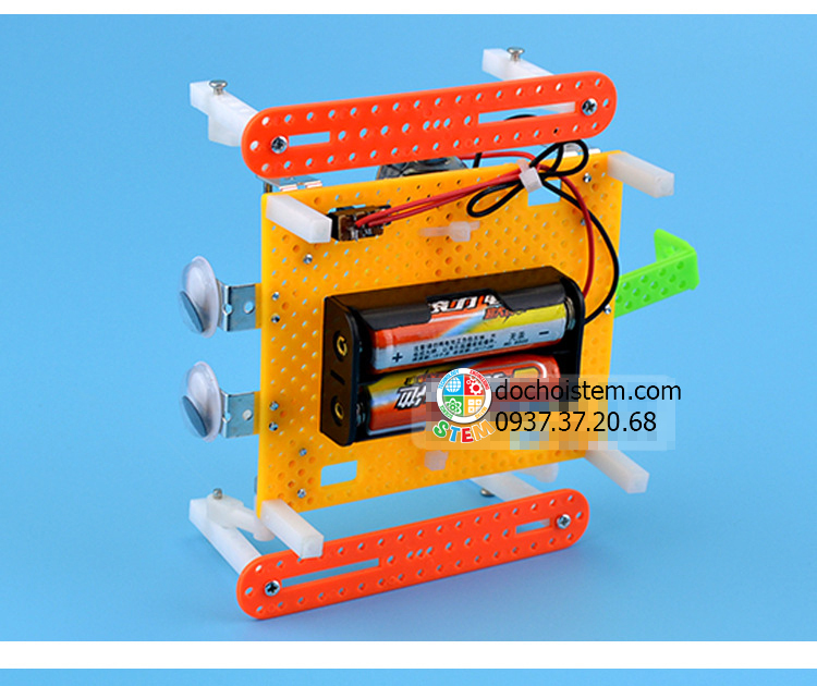 Robot con nhện- đồ chơi STEM - đồ chơi mô hình - đồ chơi lắp ráp