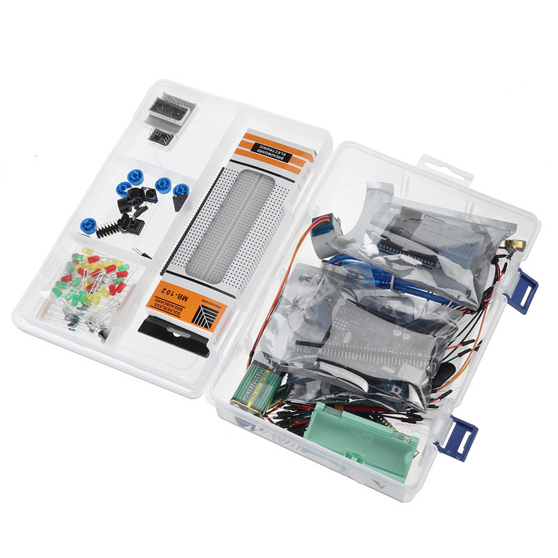 Bộ Kit Arduino Starter (kèm linh kiện) - tự học lập trình arduino