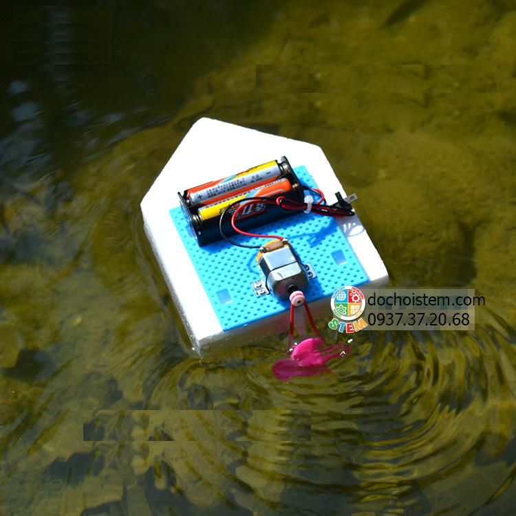 Tàu cao tốc mini- đồ chơi STEM - đồ chơi mô hình - đồ chơi lắp ráp