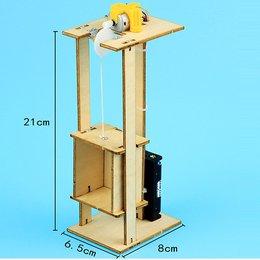 Mô hình thang máy- đồ chơi STEM - đồ chơi thông minh - đồ chơi lắp ráp