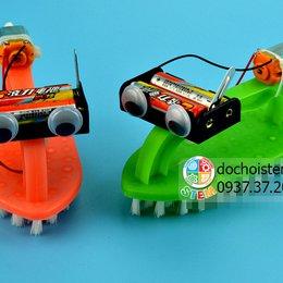 Thuyền bàn chải- đồ chơi STEM - đồ chơi thông minh - đồ chơi lắp ráp