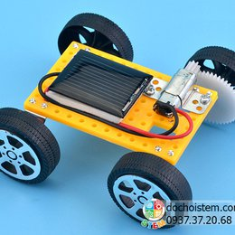 Xe năng lượng mặt trời - đồ chơi STEM phát triển trí tuệ