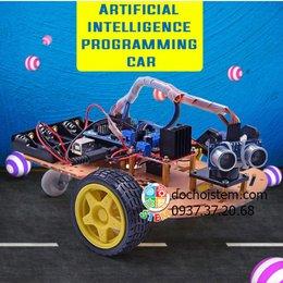 Xe robot - Xe robot arduino - Xe dò line - Xe tránh vật cản