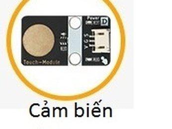 04 - Module cảm biến chạm cho Microbit - Hướng dẫn Lập trình Microbit