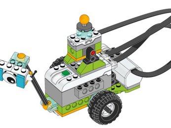 Bài 7: Robot Milo và Cảm biến nghiêng - bộ Lego Wedo 2.0