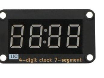 08 - Module LED 7 đoạn TM1637 cho Microbit - Lập trình Microbit